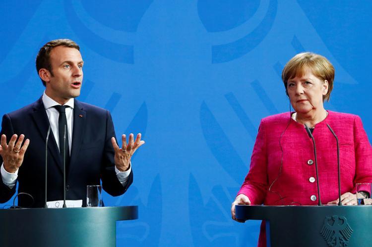 Меркель и Макрон высказались по ядерной сделке с Ираном