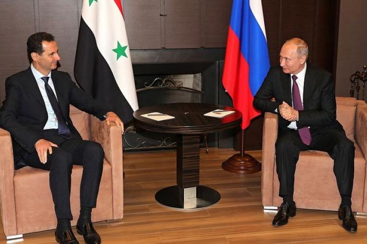 Состоялась рабочая встреча Путина и Асада