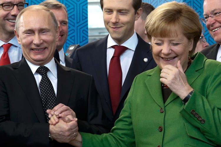 Что обсудят Путин и Меркель