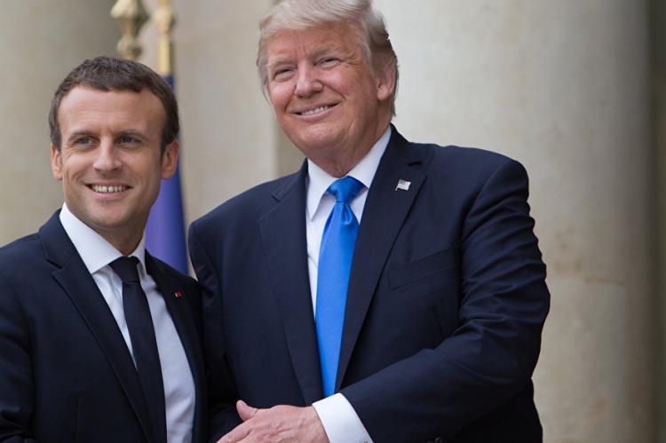 Трамп предлагал Макрону выйти из ЕС