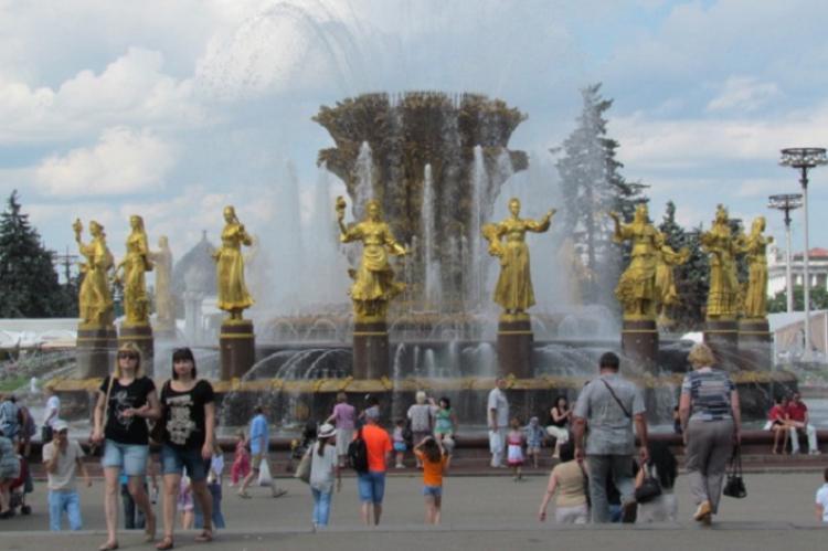 Фонтан в Москве