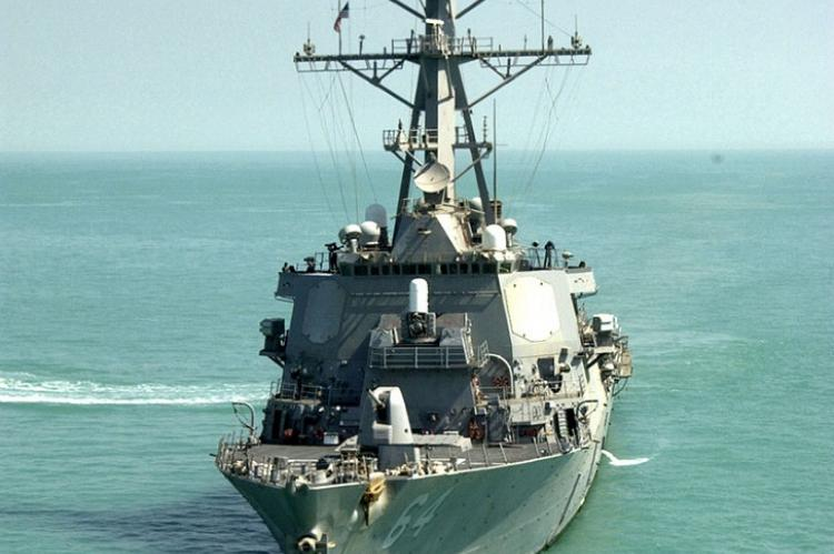 Эсминец Карни ВМС США