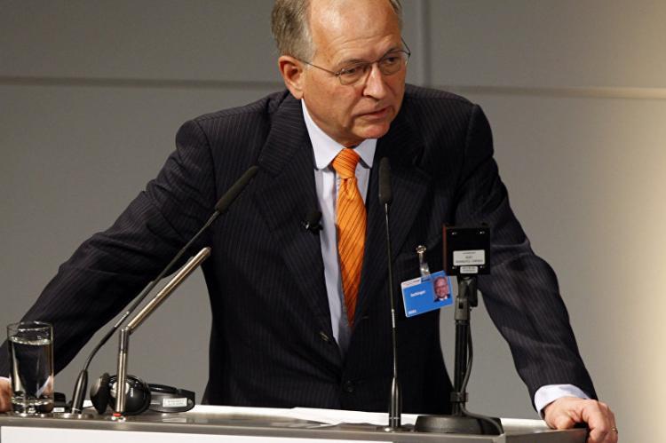 Председатель Мюнхенской конференции Вольфганг Ишингер