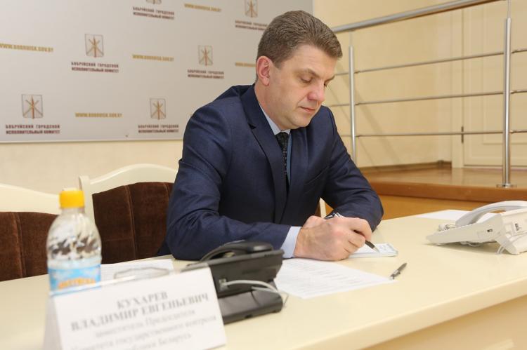 Мэр Минска Владимир Кухарев