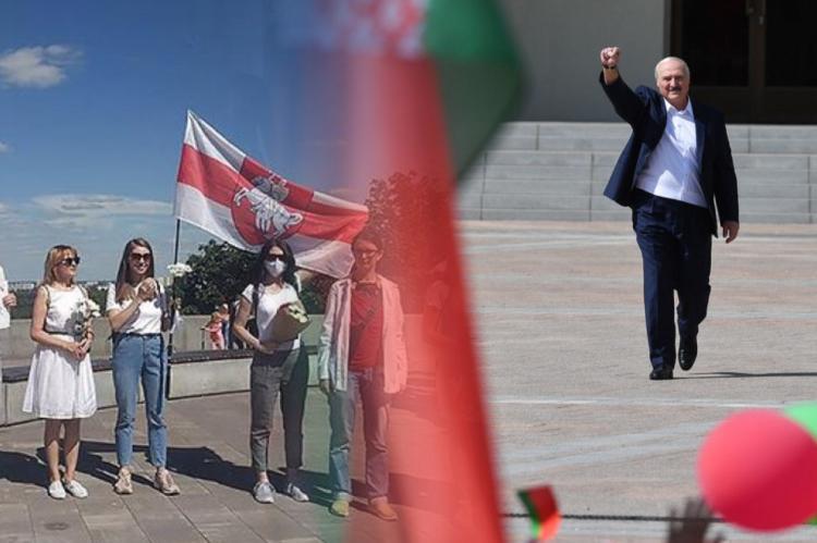 Александр Лукашенко, протесты