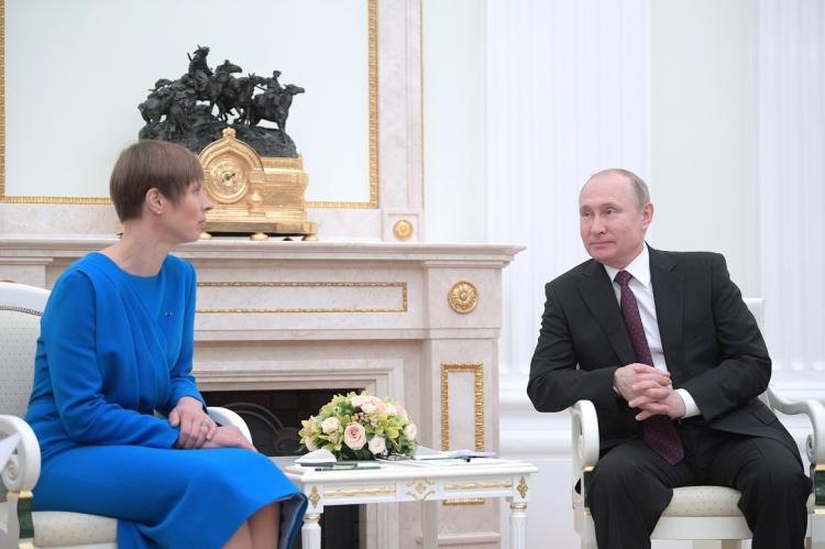 Кальюлайд призвала готовиться к угрозам со стороны России