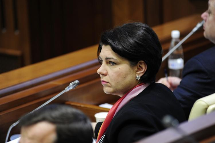 Премьер-министр Молдавии Наталья Гаврилица
