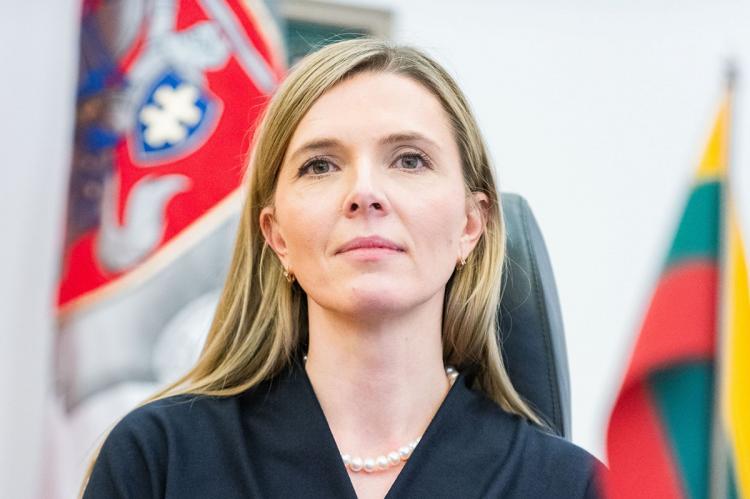 министр внутренних дел Литвы Агне Билотайте