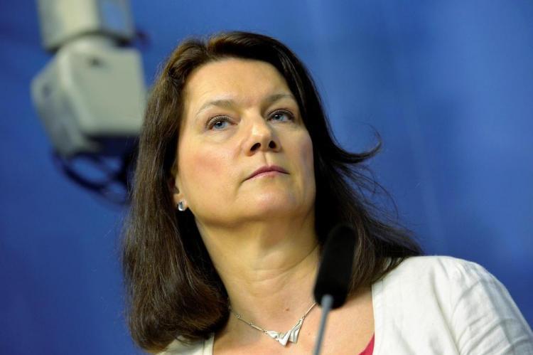 Министр внешнеполитического ведомства Швеции Анн Линде