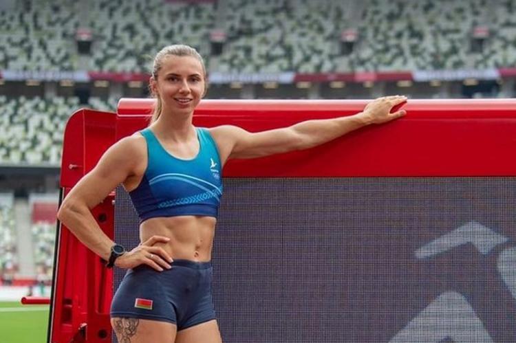 Олимпиада в Токио - Кристина Тимановская
