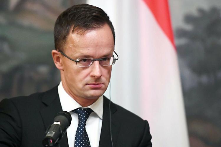 министр иностранных дел Венгрии Петер Сийярто