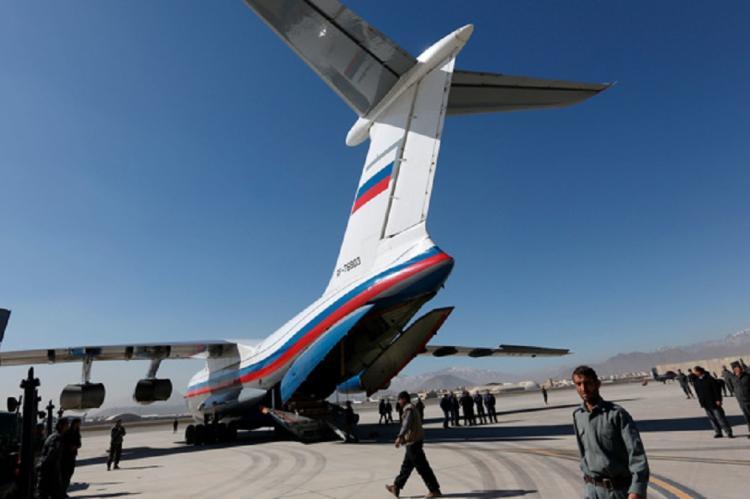 Эвакуация на российских самолетах из Афганистана