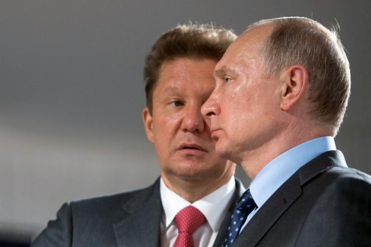 Владимир Путин, Алексей Миллер, Газпром