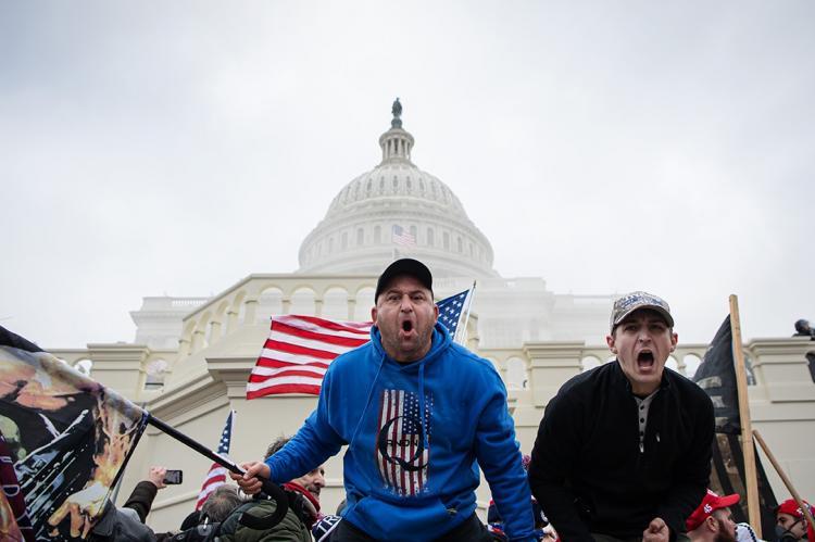 Протесты в США 6 января