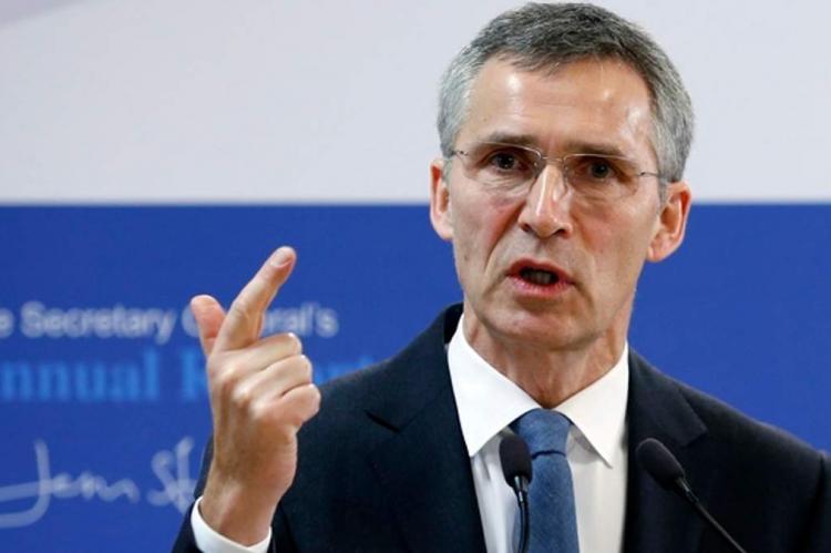 Генсек НАТО назвал укрепление сотрудничества России и Китая серьезным вызовом для альянса