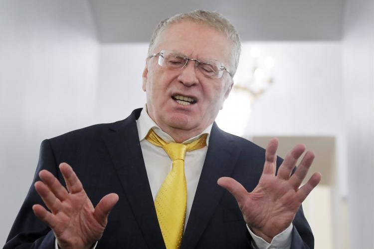 Жириновский потерял штаны на предвыборных дебатах