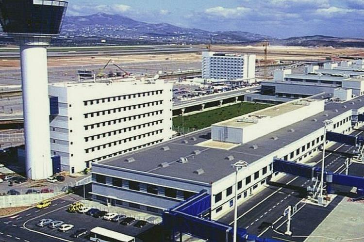 Международный аэропорт в Афинах