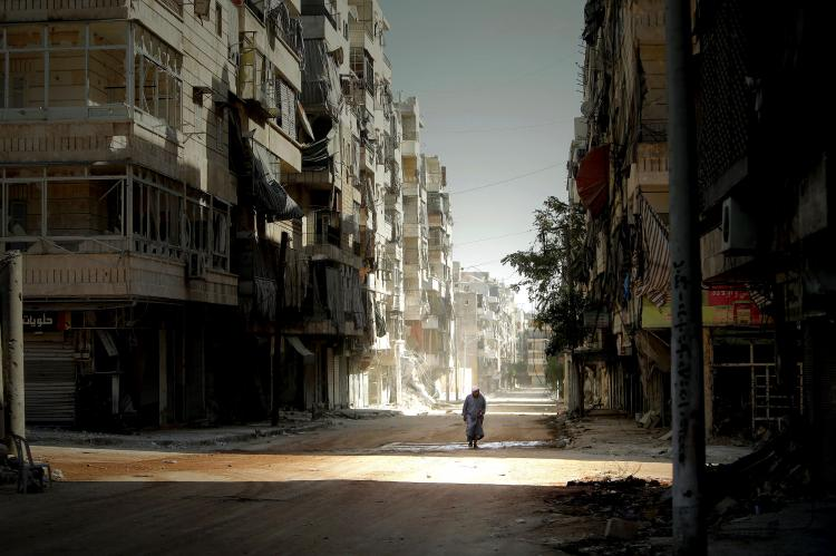 Алеппо город в Сирии