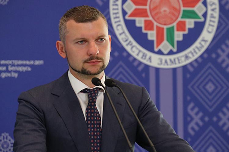 Пресс-секретарь МИД Белоруссии Анатолий Глаз