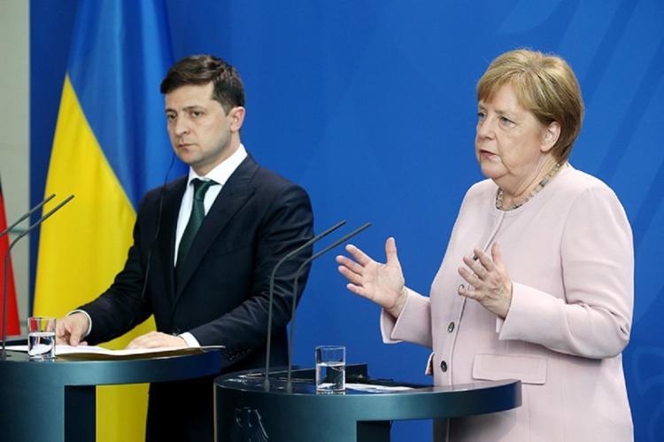 На Украине сообщили об ультиматуме Зеленскому со стороны ФРГ, США и России