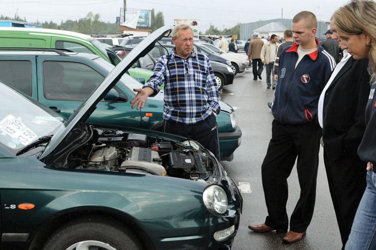 Рынок подержанных автомобилей