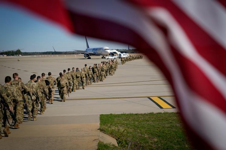 Американская база в Ираке