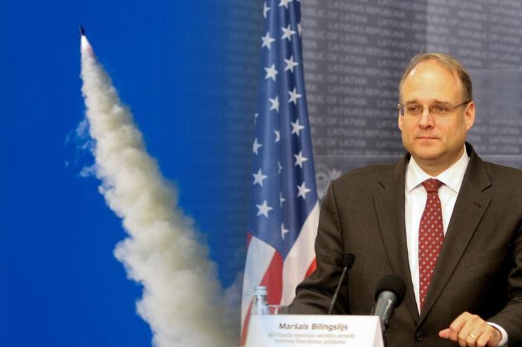 Маршалл Биллингсли, запуск ракеты