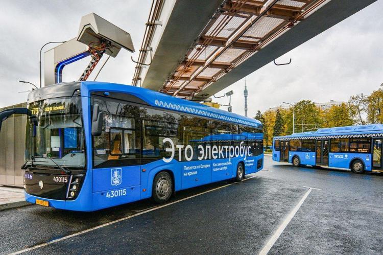 Работающие на водороде автобусы