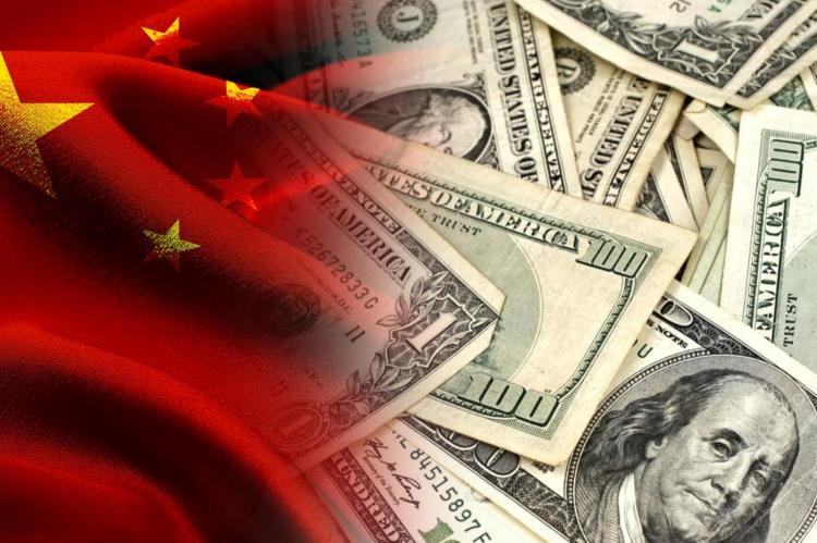 Китай, американские доллары