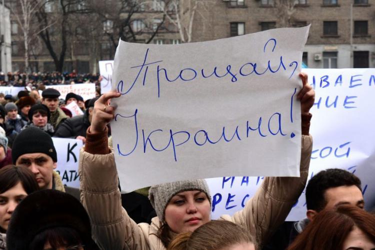 Кравчук: Украина надеется на помощь России с восстановленим Донбасса
