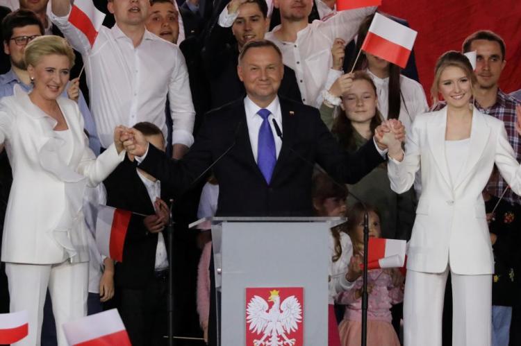 Аджей Дуда победил на выборах 2020