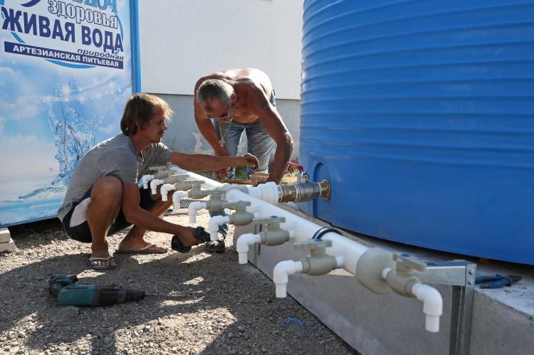 Проблемы с водой в Крыму