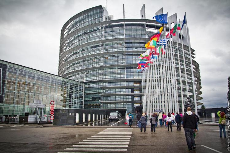 Здание Европарламента