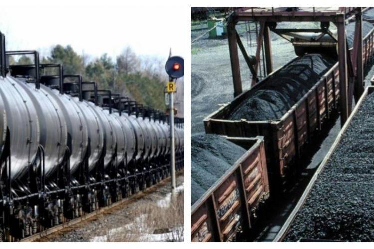 Экспорт нефти и угля