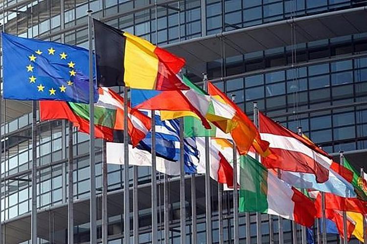 Флаги стран-участниц ЕС