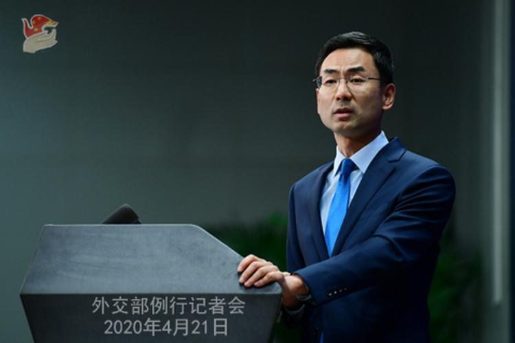 Глава МИД Китая Гэн Шуан