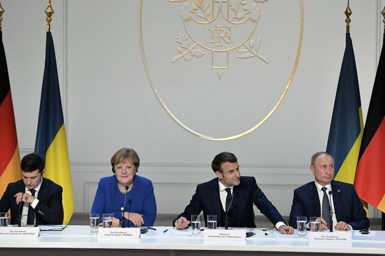 Россия направила Украине проект документа по итогам встречи президентов