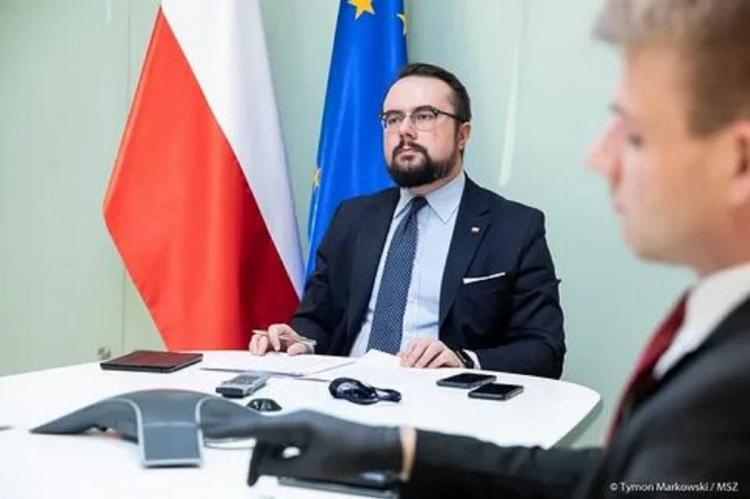 Министр иностранных дел Польши Павел Яблоньский