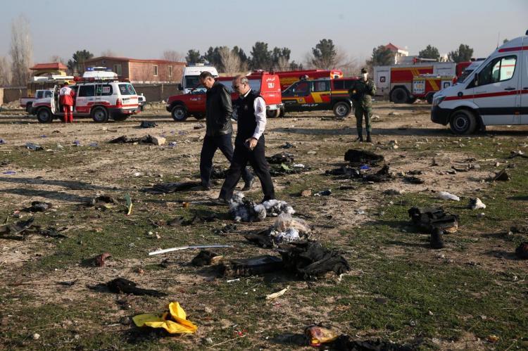 Крушение украинского лайнера в Иране
