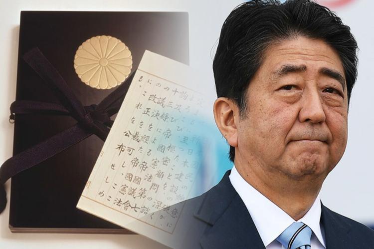 Синдзо Абэ, конституция