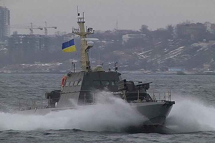 Катер ВМС Украины