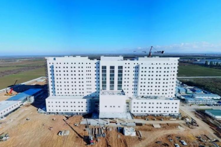 Новая больница им. Семашко под Симферополем