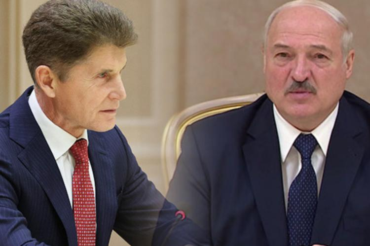 Олег Кожемяко, Александр Лукашенко