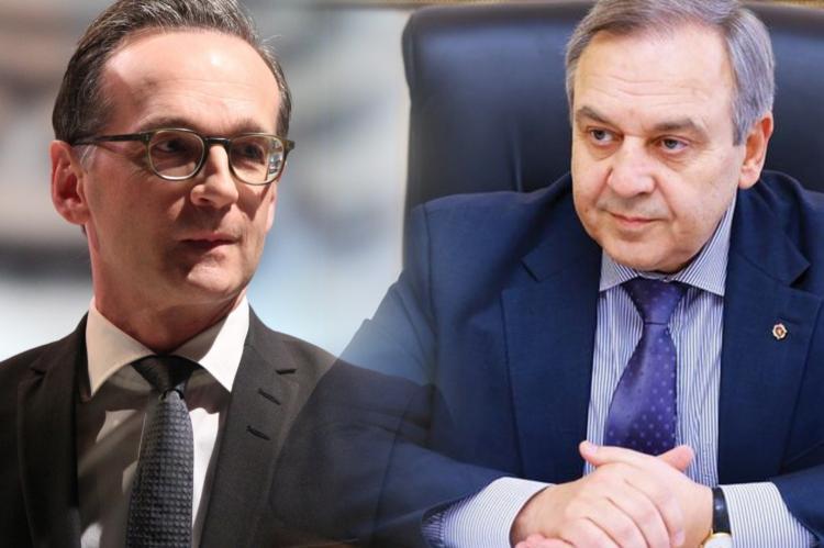Хайко Маас, Георгий Мурадов
