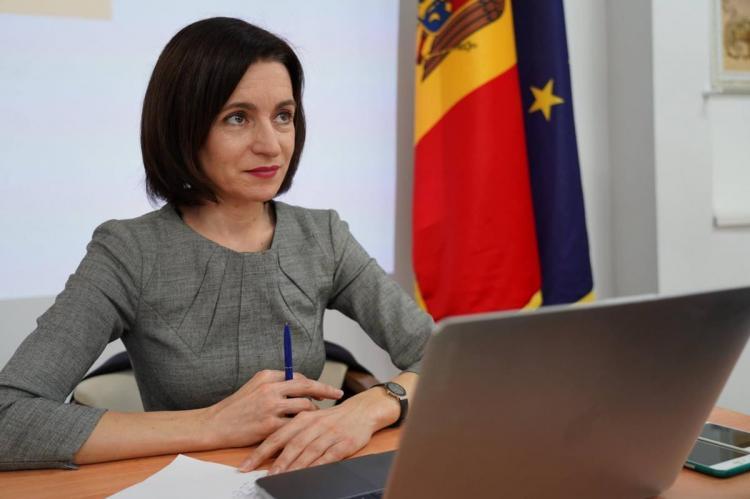 Санду заявила о готовности Молдавии возобновить переговоры с Россией