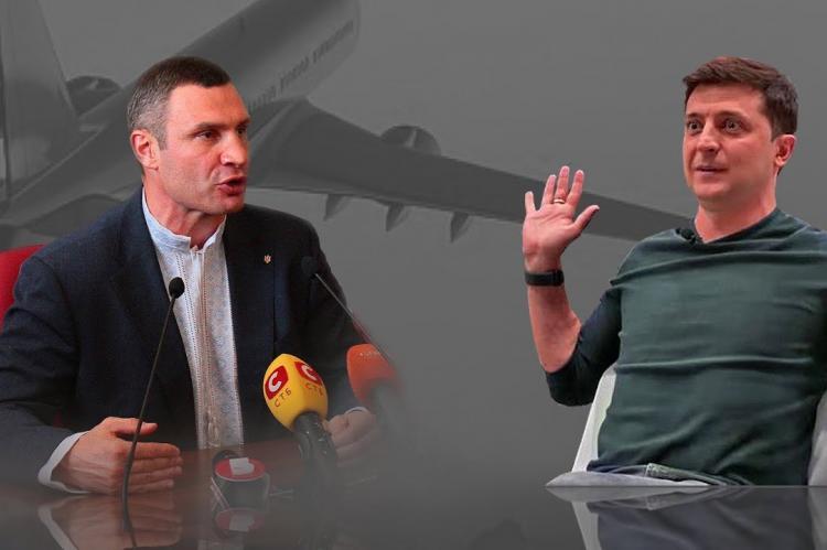 Зеленский может скоро уволить Кличко с поста мэра Киева