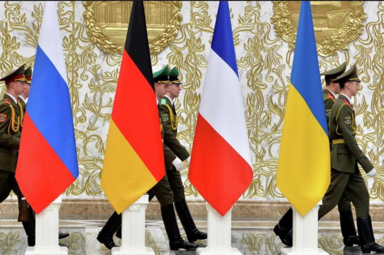 Франция и ФРГ отказались указывать, что конфликт в Донбассе идет на Украине