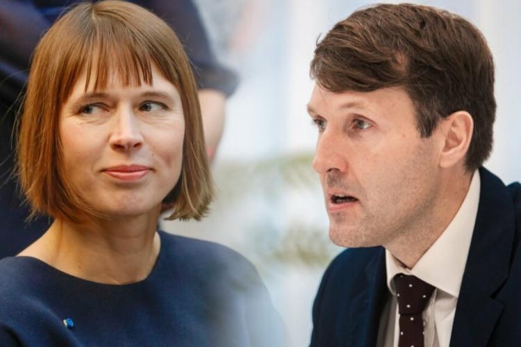Министр финансов Эстонии потребовал отстранить от должности главу государства
