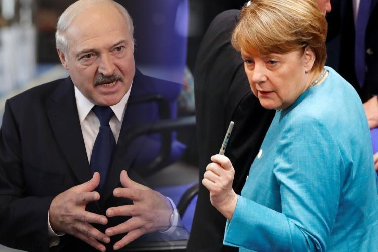 Лукашенко попросил Путина передать Меркель просьбу не вмешиваться