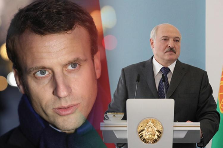 Макрон заявил, что Лукашенко следует добровольно покинуть президентский пост
